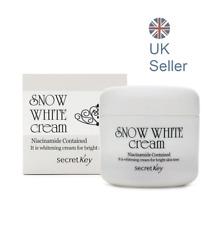 Secret Key Snow White Cream 50g, Whitening, All In One base cream, UK Seller