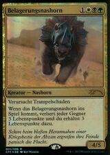 Belagerungsnashorn foil/victorias Rhino | nm | Clash Pack promos | ger | Magic mtg