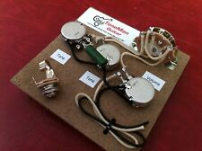 Prewired Upgrade Wiring Kit Fits Fender Stratocaster PIO Tone Cap 5 Way Switch