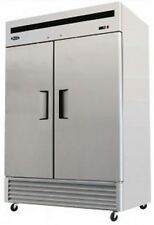 ATOSA 2-Door REFRIGERATOR - New!! - MBF8507  - NSF Approved!! SHIPS FREE