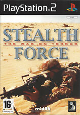 STEALTH FORCE THE WAR ON TERROR for Playstation 2 PS2 - with box & manual - PAL