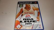 Playstation 2 ps 2 NBA Live 2004