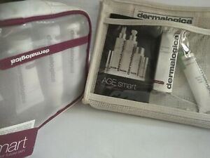 Dermalogica Age Smart... 2 Travel Bags with Contents... As Listed in Description