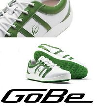 Gobe Street Golf Shoes US Size 9 Euro 43 White Green Spikeless Retails $159.99