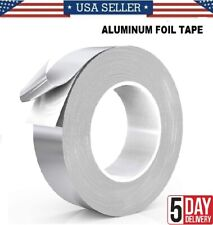 Silver Aluminum Foil Tape Heavy Duty Dust Tape Use For Heating And Air Condition