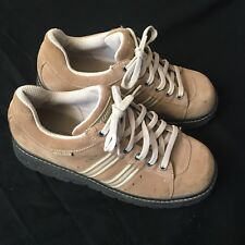 Skechers Suede Platform Shoes Tan Womans 10 Oxfords Retro Hippie