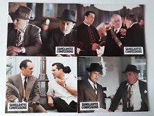 10 PHOTOS D EXPLOITATION LOBBY CARDS - SANGLANTES CONFESSIONS - ROBERT DE NIRO
