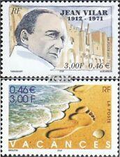 Frankrijk 3538,3539 gestempeld 2001 Speciale postzegels