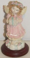 House of Lloyd Sharing Angel with Present Figurine