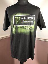 Monster Energy Nascar Cup Series 2019  Tour Schedule T-Shirt  - Size L