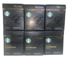 72 pods of Starbucks Verismo Espresso Roast Coffee Brew Dark Roast