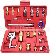 22pc Air Tool Accessory Kit Pneumatic Brass Compressor Hose Blow Gun Tool Set