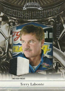 2012 Legends Pieces of History Silver #POH-TL Terry Labonte 141/199 HTF!!