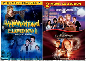 Complete Disney Halloweentown Series 1 2 3 & 4 Movie Pack Halloween DVD Bundle