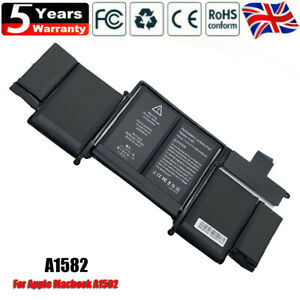 """For Genuine A1582 Battery Apple Macbook Pro Retina 13"""" A1502 Early 2015 6500mAh"""