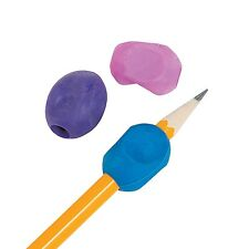 12 LEFT Handed Rubber Training Pencil Grips Occupational Therapy