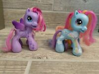2008 Hasbro MLP My Little Pony G3.5 Rainbow Dash, Star Song Lot of 2 Set