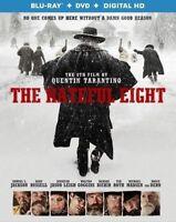 The Hateful Eight (Blu-ray/DVD, 2016, 2-Disc Set) NEW
