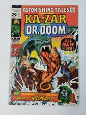 Astonishing Tales 8 Marvel Comics 1st Cynthia Von Doom key - Mid Grade 1971