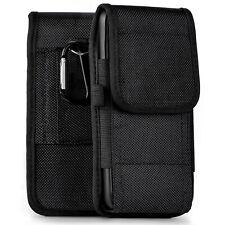Móvil Funda Cinturón Para HTC Desire 12 Redondeada Protección Con Doble Lazo