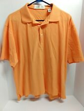 Fairway & Greene Golf Polo Cotton Shirt Size Large