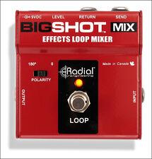 Radial BIGSHOTMIX Looper Pedal - NEW!
