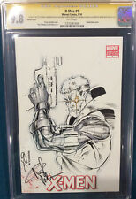 Angel Medina ORIGINAL Sketch Art CGC 9.8 Signed CABLE Comic not CBCS X-MEN