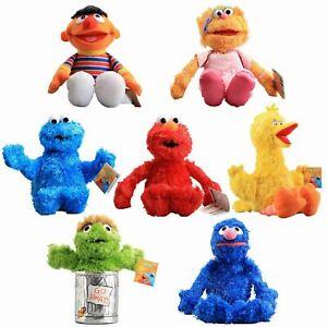 Sesame Street Plush Elmo Big Bird Cookie Monster SESAMESTREET 25CM BEST XMAS GIF
