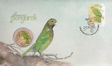 2013 Australian Songbirds FDC/PNC With Commemorative $1 Coin - Melbourne Vic PMK