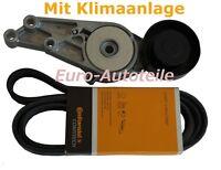 Keilrippenriemen+Riemenspanner AUDI A4 A6 1.6 1.8 T 1.8 2.0 06B903137D 06B903133