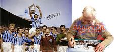 """Peter mcparland firmato 16 """"X12"""" Aston Villa 1957 Association Cup Fotografia vedere prova"""
