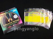 Alice A107C Clear Nylon Colourful Coated Copper Wound Classical Guitar Strings