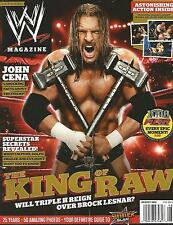 AUGUST 2012 WWE MAGAZINE TRIPLE H THE GAME HHH EVOLUTION WRESTLING WRESTLEMANIA