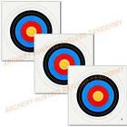 5 PK Archery Bow COLOR TARGET FACE 60 CM 26X26 #1576 Bow HEAVY DUTY PAPER