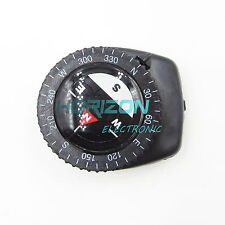 10Pcs Micro Clear Liquid-filled Compass w/ Clip Outdoor Molle Backpack Pouches