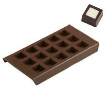 NEW Cubico Chocolate Mould Ice Tray Silicone Davis & Waddell Square