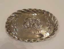 English Sterling Silver Reynolds Cupids, Cherubs, Angels Pin Tray