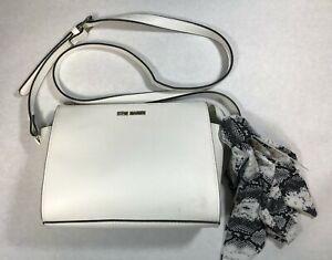 STEVE MADDEN Women's CROSSBODY White Handbag