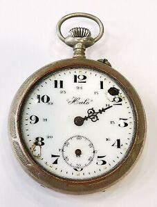 Reloj En Gousset. Fonctionne. Pas De Verre. AD1940