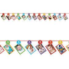 3.65m 1st Colores Arco Iris Fiesta De Cumpleaños Año una foto Guirnalda Decoración