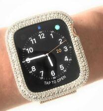 Bling apple watch Series 4 S4 bezel case cover Zirconia Diamond Rose Gold 40 mm