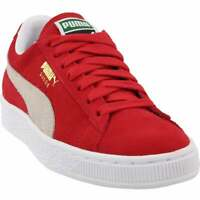 Puma Suede Classic+ Core Sneakers Casual    - Red - Womens