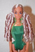 OOAK Barbie Vintage Sun Lovin Malibu PJ Purple Eyes Reroot Steffie Mold