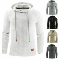 Men's Premium Athletic Soft Sherpa Lined Fleece UP Hoodie Coat Sweater Pullover