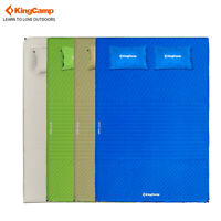 KingCamp Double Self-Inflating Mattress With Pillow Outdoor Camping Sleeping Mat