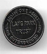 LANG PARK ADMISSION TOKEN ~ OUTERGROUND ~ ADMIT ONE ADULT