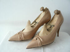 "Court Shoes Collection "" Beige Iced "" Years 1960 - Astre Paris T.37"