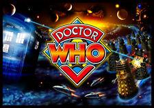 Doctor Who Pinball Alternate Translite