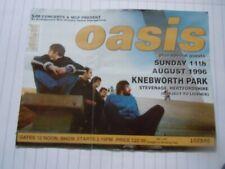More details for oasis knebworth used ticket concert stub 11th august 1996