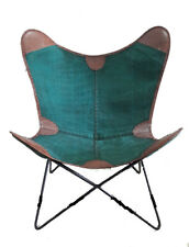 Mix Leather Chair Iron Stand and Leather Cover for Indoor Outdoor Chair